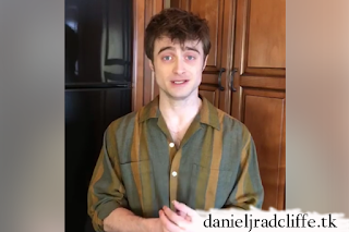 Daniel Radcliffe pays tribute to all the care staff working at St Michael's Hospice