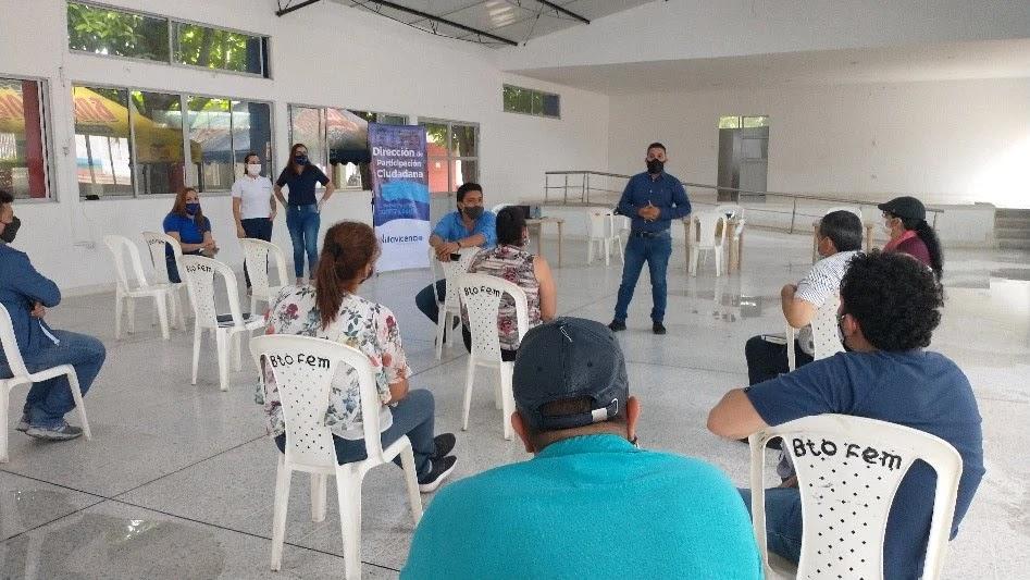 durante la Jornada de Asistencia Técnica y Jurídica, adelantada por la Alcaldía de Villavicencio, manifestaron su deseo de conformar una Asociación de Juntas (Asojuntas)
