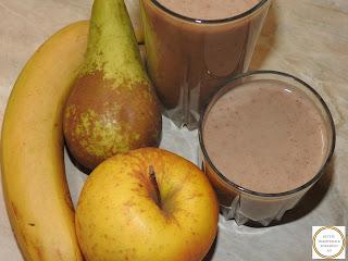 Smoothie din fructe cu cereale si seminte reteta,
