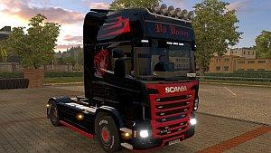 Scania R V8 Power skin by skaecik