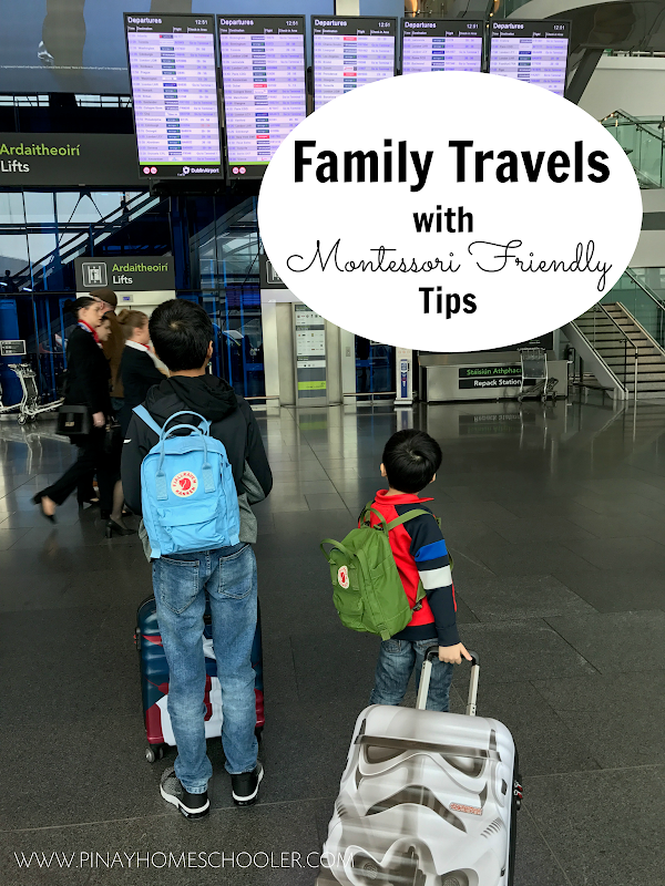 Family Travels with Montessori Friendly Tips