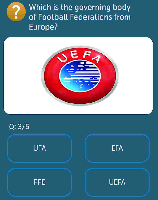 Which is the governing body of Football Federations from Europe?