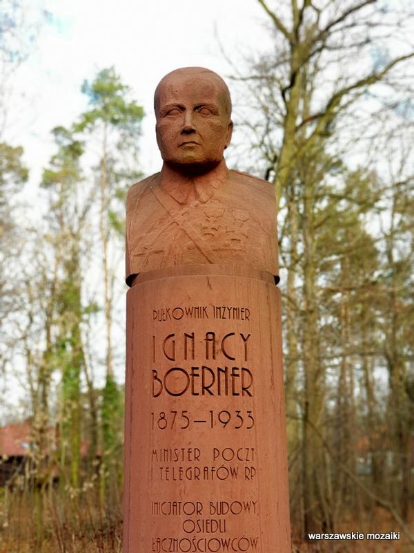 Warszawa Warsaw rzeźba pomnik Marek Moderau Bemowo Bernerowo