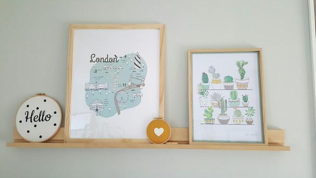 cadre-ikea-london-maisons-du-monde-cactus