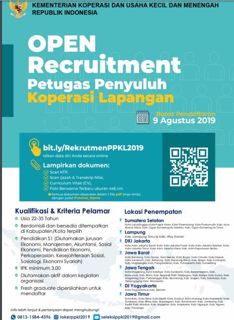 Petugas PPKL Kementerian Koperasi dan UKM Republik Indonesia