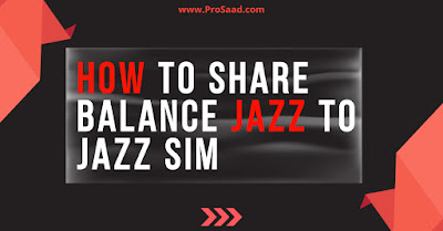 Jazz Balance Share Code 2021