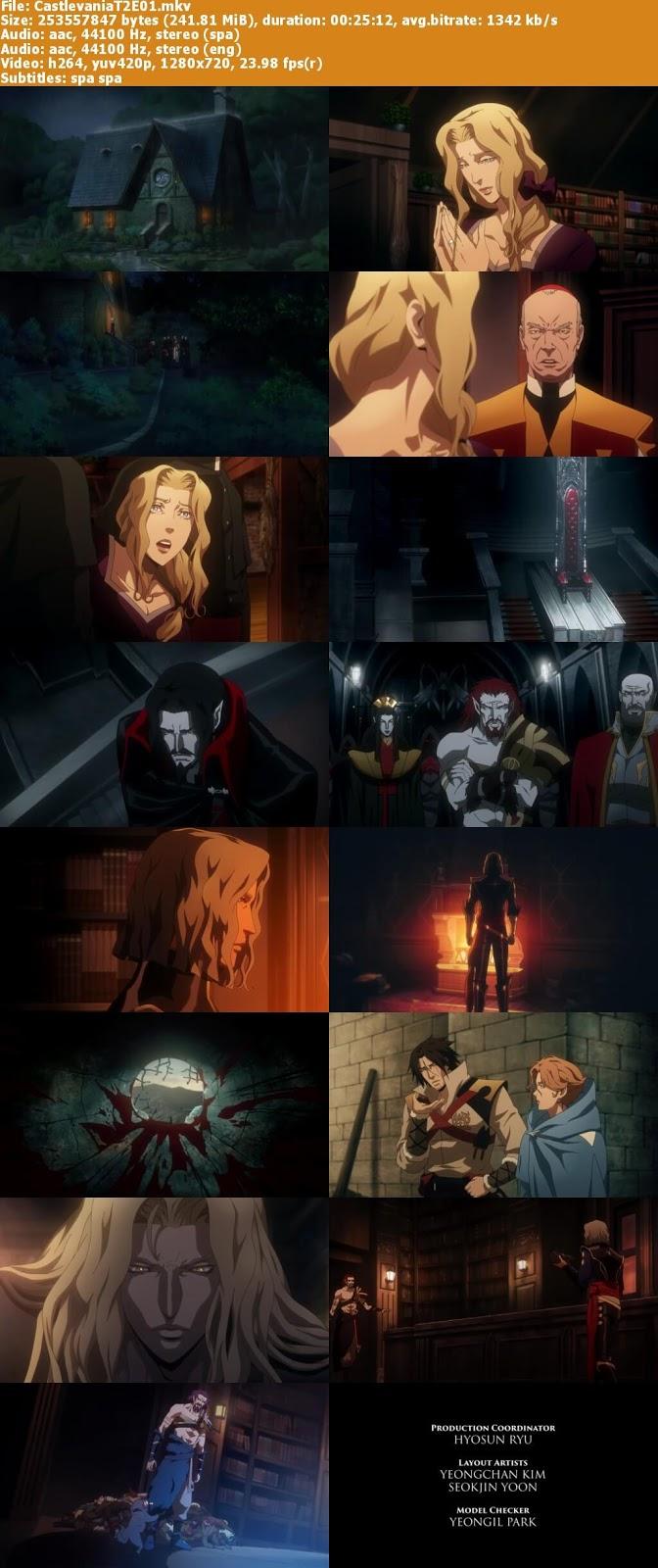 Capturas Castlevania temporada dos
