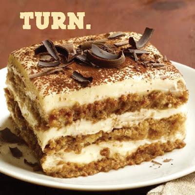 My Turn for a Tiramisu Dessert