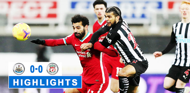 Newcastle United vs Liverpool – Highlights
