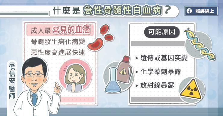 什麼是急性骨髓性白血病?