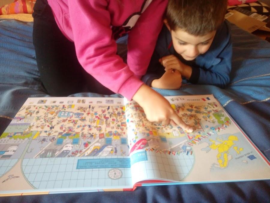 Libro de geografía de busca y encuentra