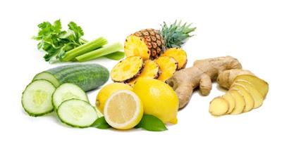 Pepino y limon para perder peso