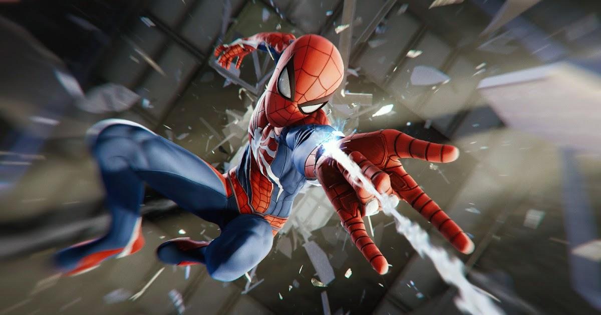 Planos De Fundo Hd Para Pc: Spider Man PS4 Plano De Fundo HD