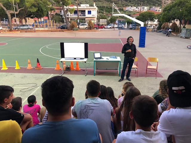 Ο coach Κώστας Τζατζάνης στο τουρνουά KIVERI ATHLETICS 2019
