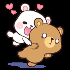 Bear Couple : Milk & Mocha
