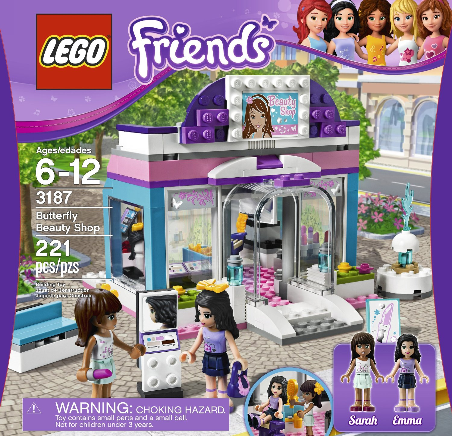 My Lego Style: LEGO Friends Butterfly Beauty Shop 3187