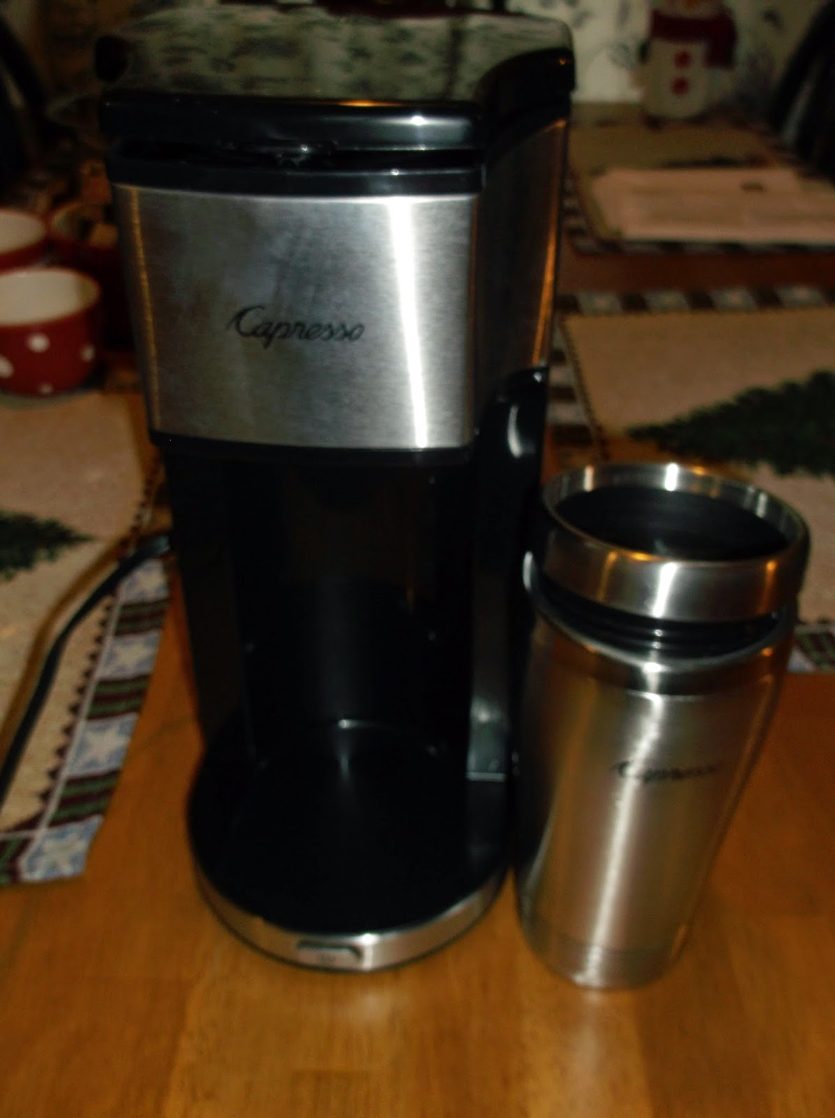 Missys Product Reviews Capresso On The Go Coffee Maker Review