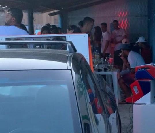 Festa clandestina é encerrada no interior da Paraíba
