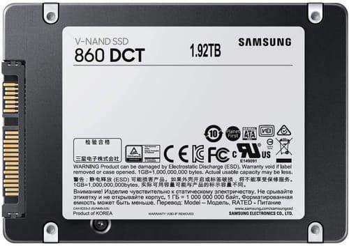 Review Samsung 860 DCT Series Internal SSD 1.92TB