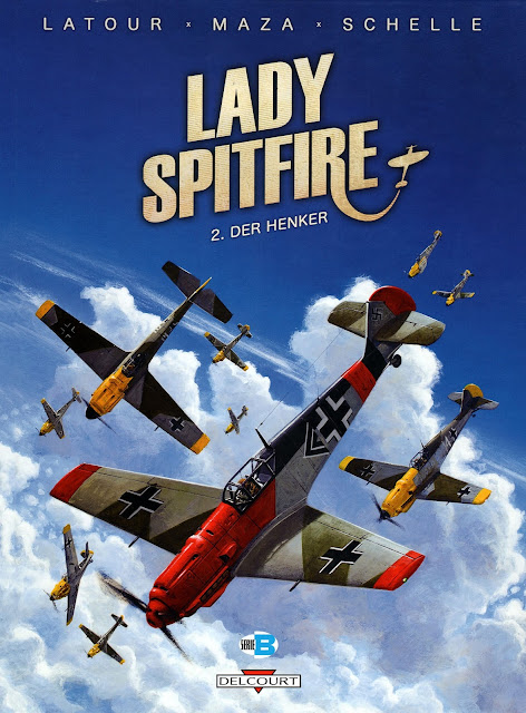 woman fighter pilot comic