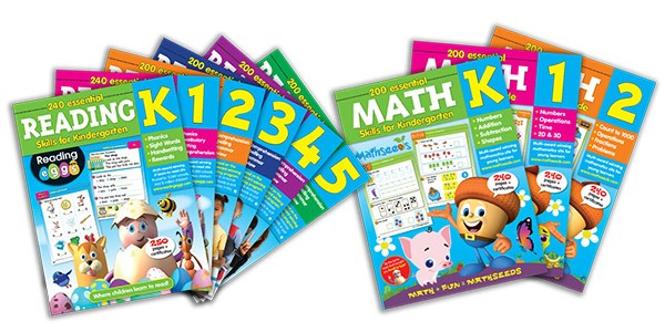 Mom's Heart: Reading Eggs & Mathseeds Workbooks! {review}