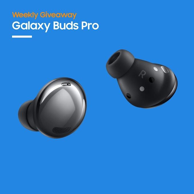 Sorteio Galaxy Buds Pro