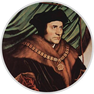 Томас Мор (1478–1535) – англійський філософ, один з основоположників утопічного соціалізму. Автор – Ганс Гольбайн-молодший (1527).