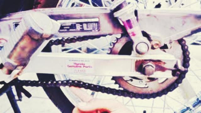 rantai motor kendor