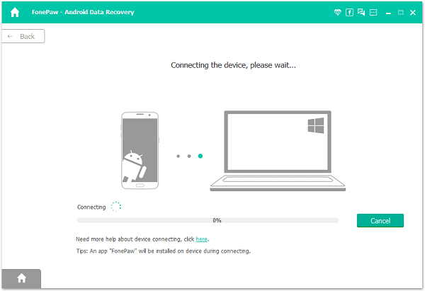 """RECOVER by using """"FONEPAW"""" Recovery Tool"""