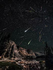 Chuva de meteoros Perseidas - David Kingham