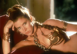 Slave Princess Leia banned Star Wars merchandise Carrie Fisher