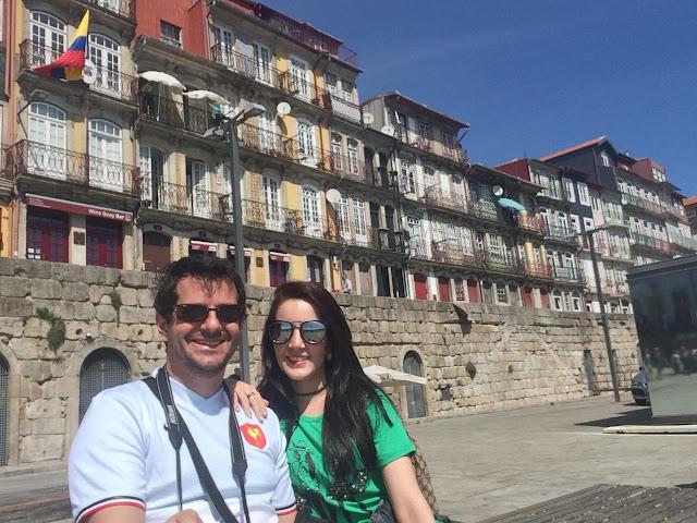 Ribeira do Porto e suas casas coloridas - Porto - Portugal