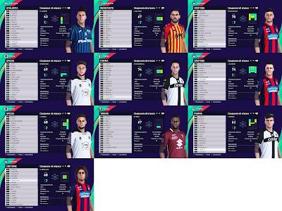 PES 2021 Facepack Serie A Vol 8