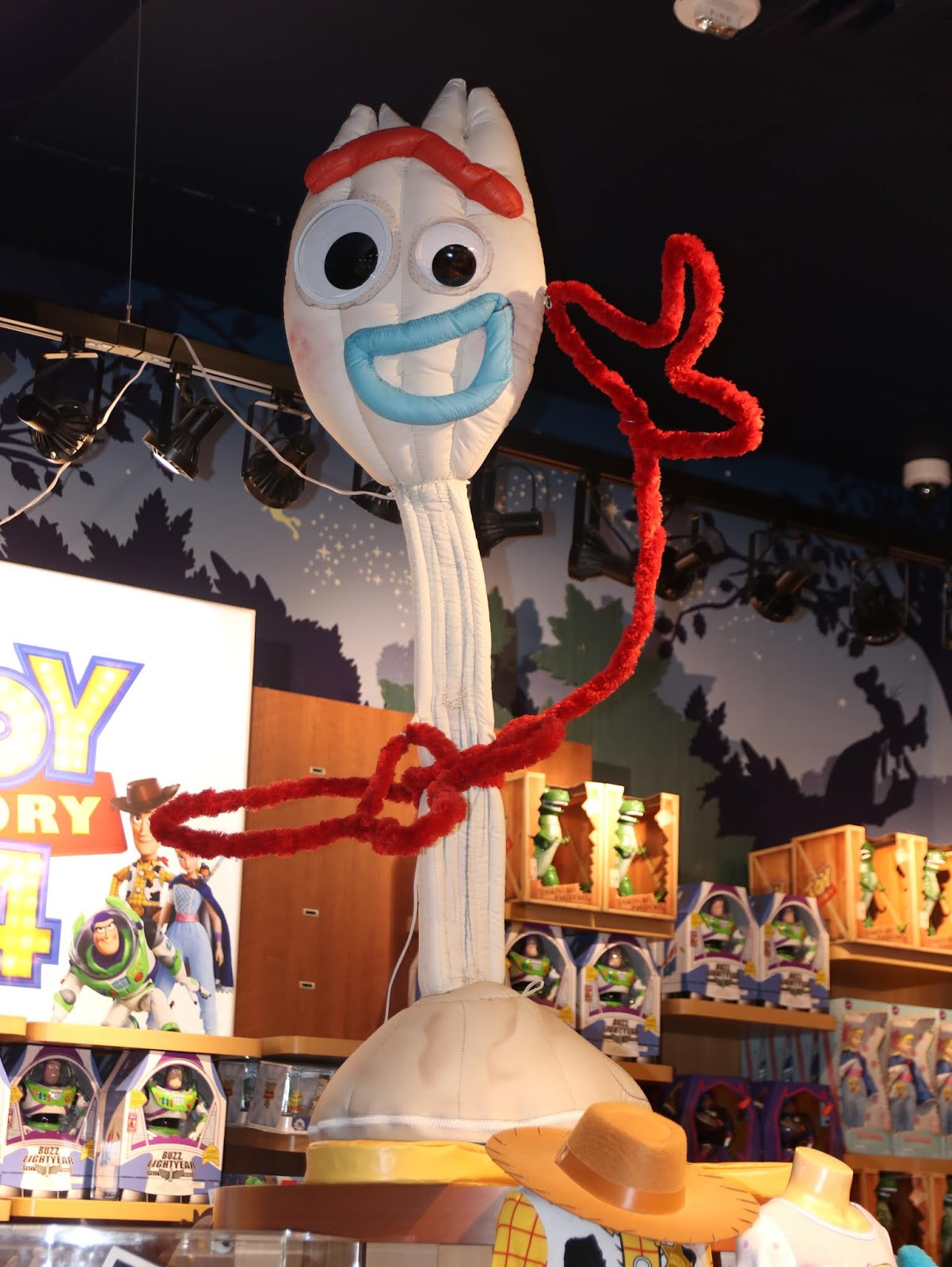 disney store times square toy story 4 forky