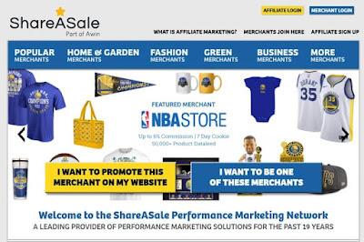 شبكة Shareasale