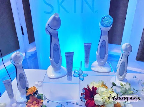 Media Launch of Nu Skin's ageLOC LumiSpa for the eye area. Good Bye puffy eyes