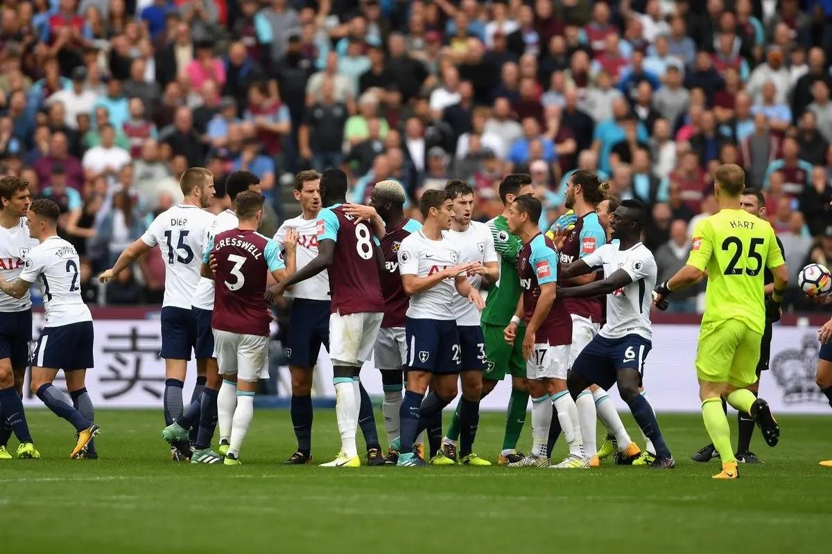تقرير مباراة توتنهام ووست هام يونايتد الدوري الانجليزي