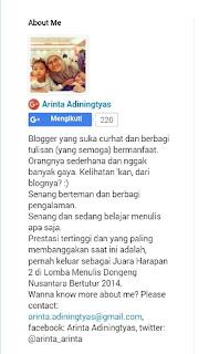 arinta adiningtyas-kayusirih-profil
