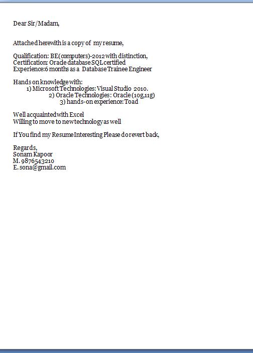 proper resume format pdf