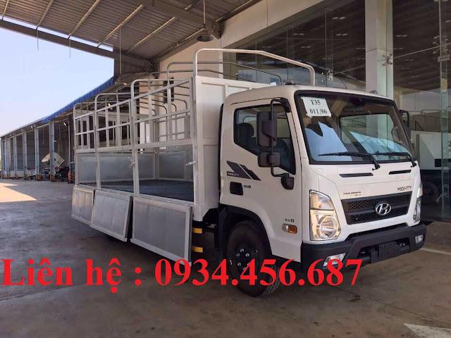 Xe tải Hyundai EX8 đời 2021 thùng bạt