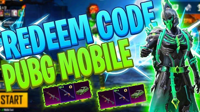 PUBG Mobile all redeem codes released in 2020