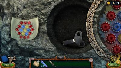 забираем ключ в углублении в игре затерянные земли 4 скиталец