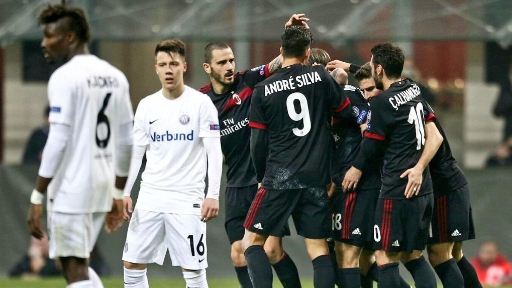Risultati Calcio Europa League: Lazio Milan e Atalanta approdano ai 16° di finale
