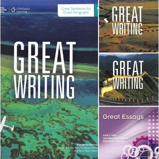 📚Great Writing 1-4 by Folse Keith National Geographic Learners