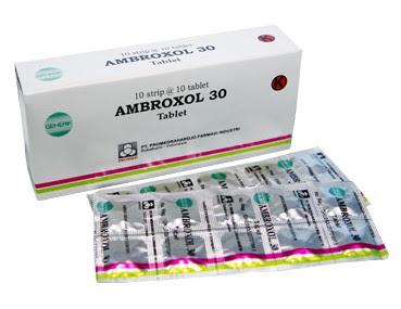 Harga Ambroxol Obat Penyakit Saluran Pernapasan Terbaru 2017