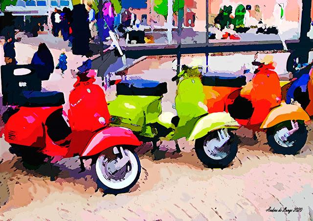 Motorsykler i Drammen