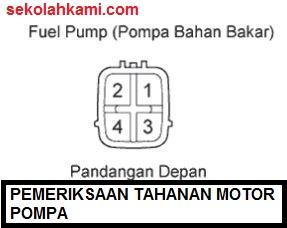cara memperbaiki fuel pump mobil