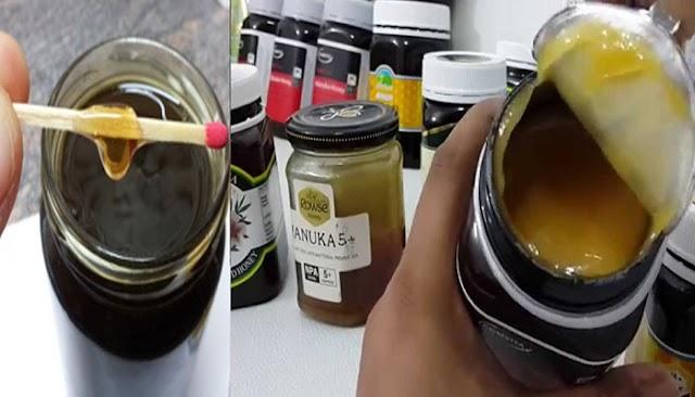 Αγόρασε τενεκέ με μέλι και τον έκλεψε με τον πιο ανήθικο τρόπο...