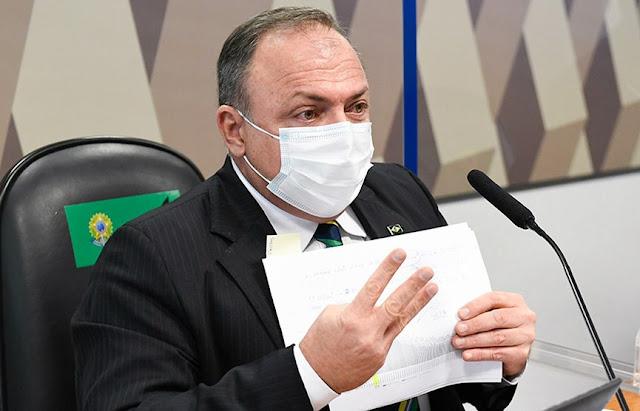 Pazuello diz que faltou oxigênio em Manaus por 3 dias; senador rebate: 'Informação mentirosa'
