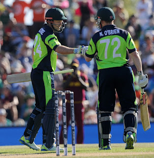 Paul Stirling 92 - West Indies vs Ireland Highlights - 5th Match - ICC Cricket World Cup 2015